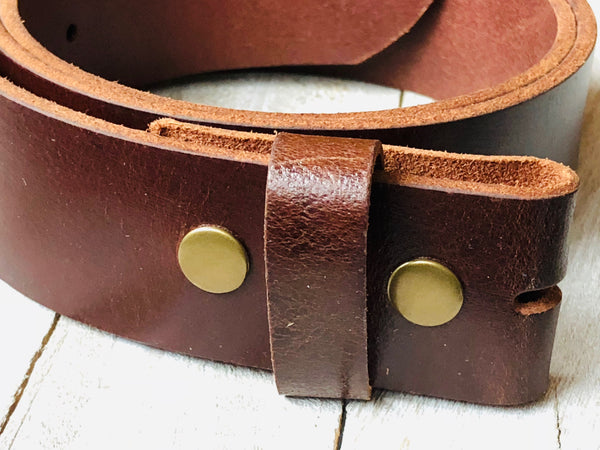 Belt strap ~ solid brown - Miss Olivias Line