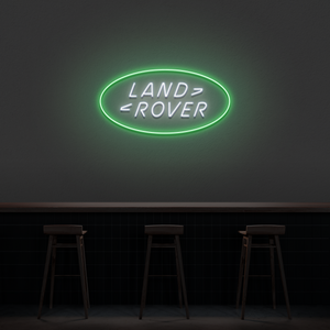 'Land Rover' Neon Sign