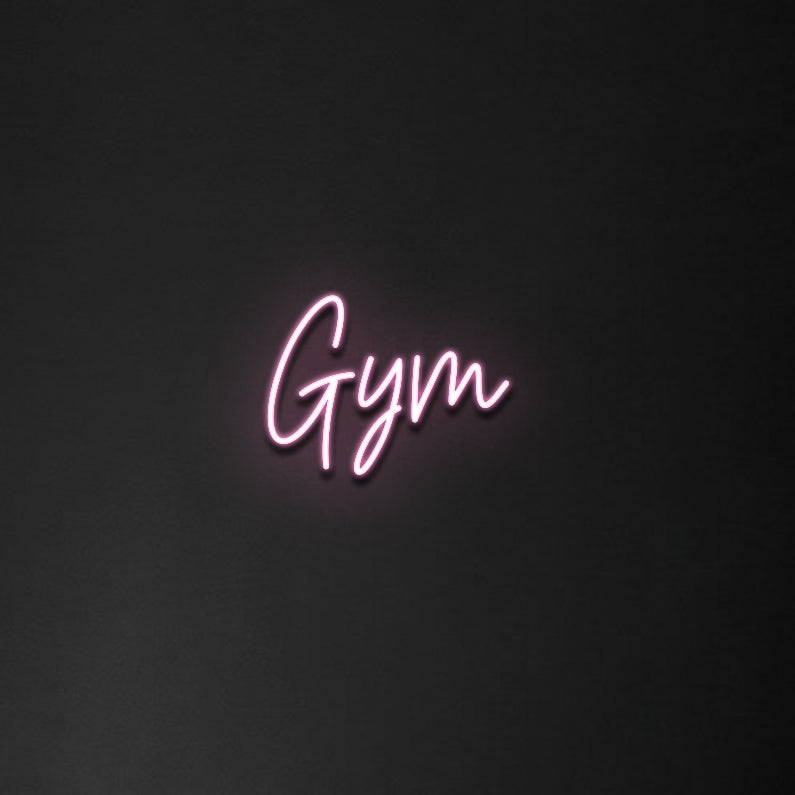 'Gym' Neon Sign