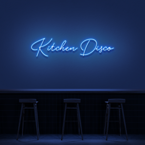 'Kitchen Disco' Neon Sign