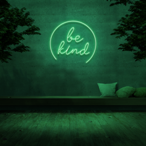 'Be Kind' Neon Sign