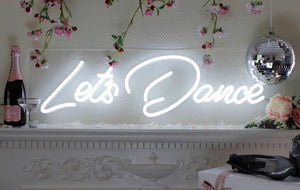 Let's Dance Neon Sign