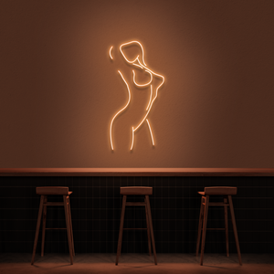 'Female Pose' Neon Sign