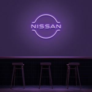 'Nissan' Neon Sign