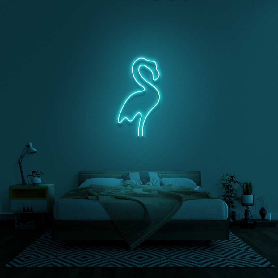 'Flamingo' Neon Sign