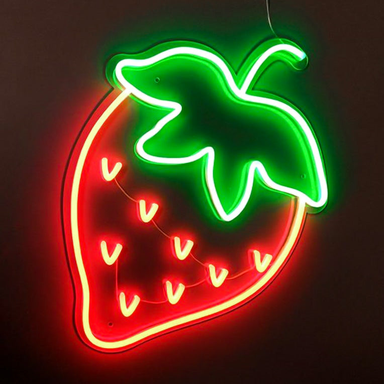 Strawberry Neon Sign