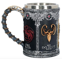 Load image into Gallery viewer, Game of Thrones Tankard with Signets