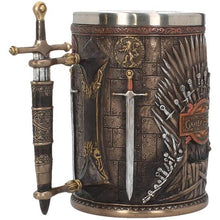 Load image into Gallery viewer, Game of Thrones Iron Throne Tankard
