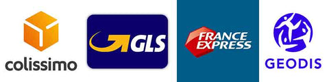 Colissimo GLS France Express Geodis