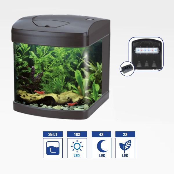 aquarium-equipe-xcube-26-led-amtra-demo