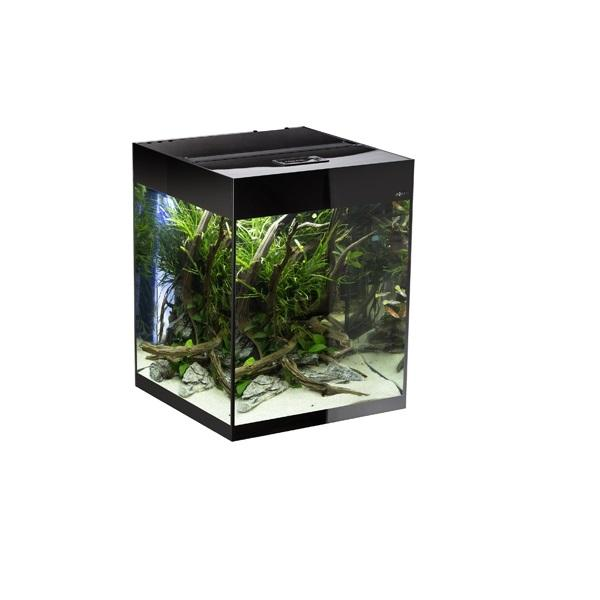 aquarium-glossy-cube-noir-led-aquael-135-l-cuve