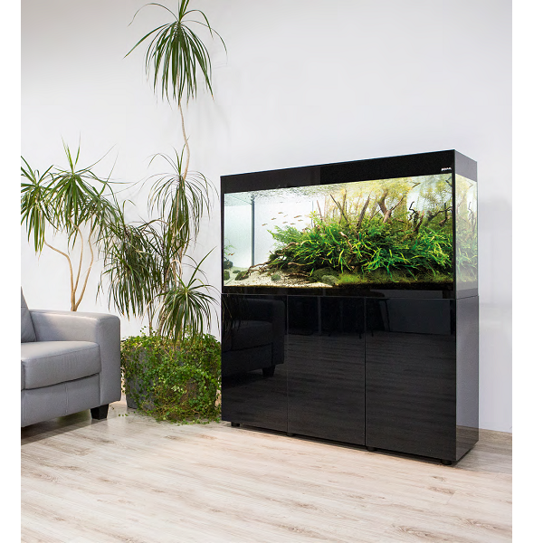 aquarium-glossy-150-noir-laque-led-aquael-demo