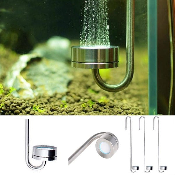 Diffuseur Co2 Design Inox - Bao Aquarium