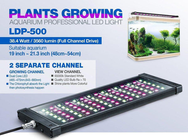 Rampe LED eau douce LDP-500 - Bao Aquarium