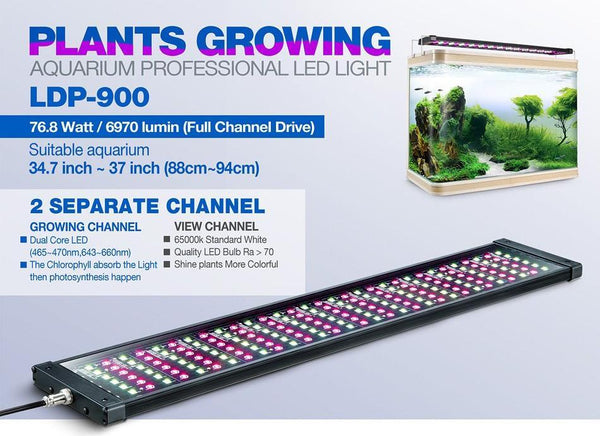 Rampe LED eau douce LDP-900 - Bao Aquarium