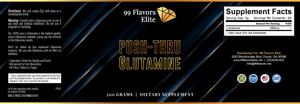 PUSH-THRU GLUTAMINE