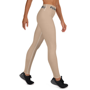 HAZLENUT LEGGINGS WITH POCKETS