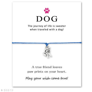 Unisex Girls Boys Adjustable Friendship Statement for Dog Lover