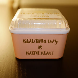Native Heart Pink Cuboid