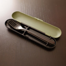 Load image into Gallery viewer, Khaki Cutlery Set