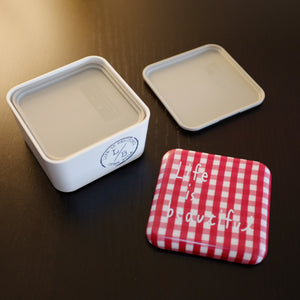 Red Picnic Square Bento