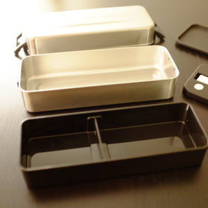 Crez Stainless Steel Double Bento