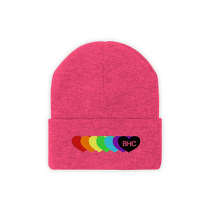 BHC Colorful Logo Knit Beanie