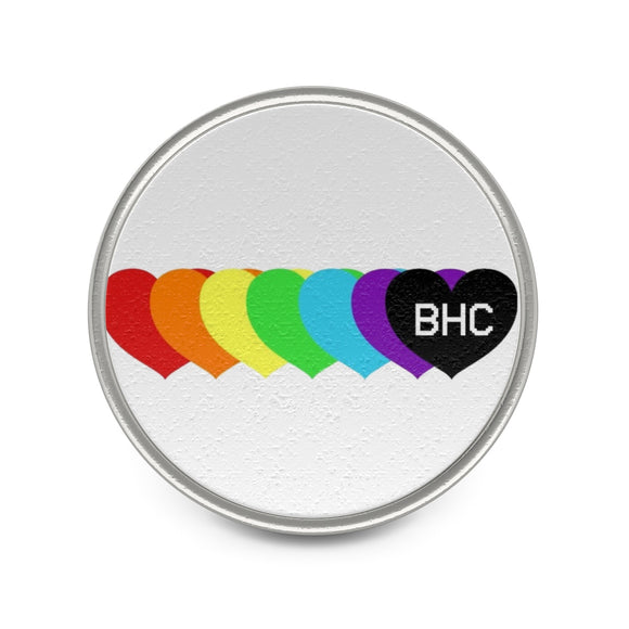 Colorful BHC Metal Pin