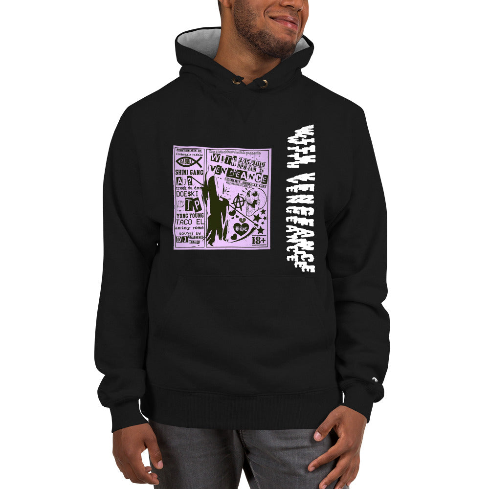 With Vengeance Champion Hoodie
