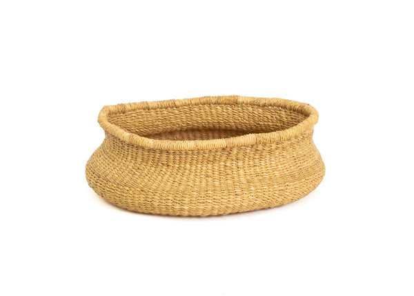 Elephant Grass Bowl Basket