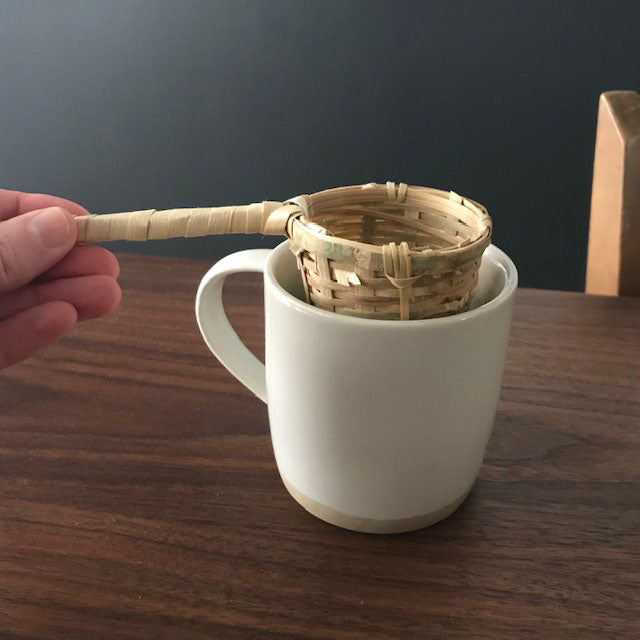 Bamboo Tea Strainer Basket