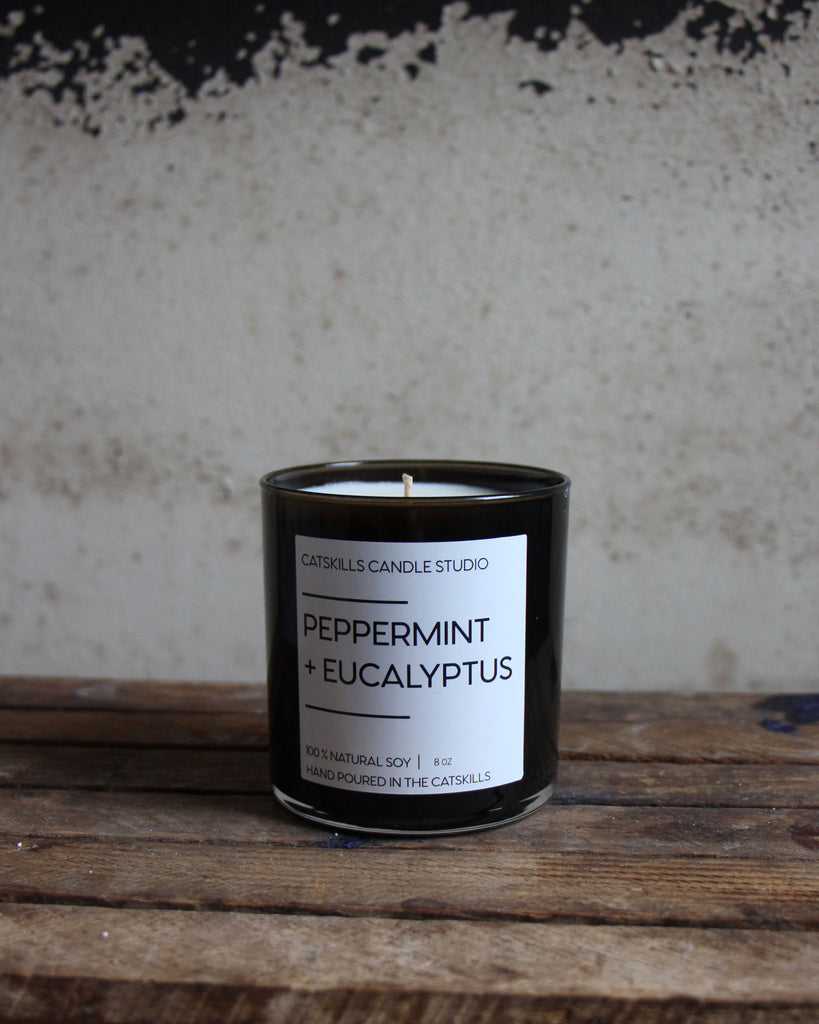 Peppermint + Eucalyptus Candle