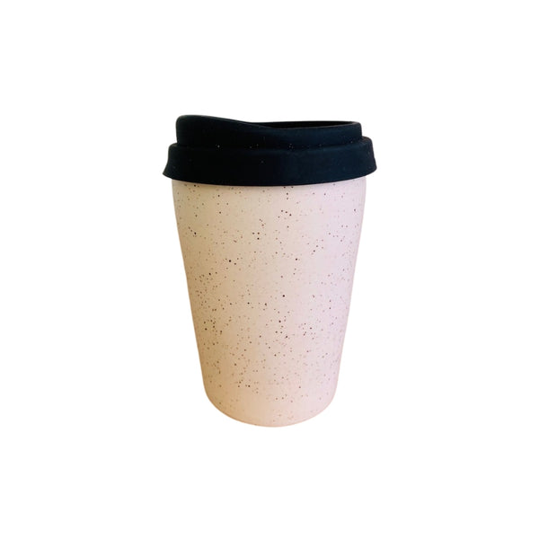 Ceramic Speckle Travel Cup
