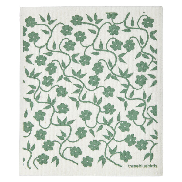 Swedish Dishcloth - Moss Vines