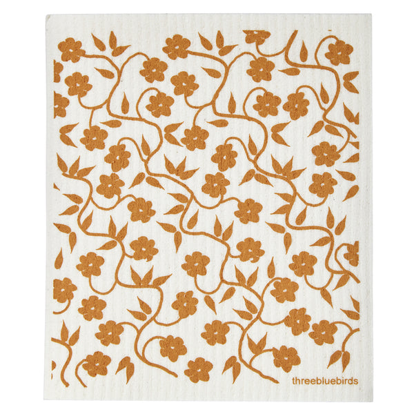 Swedish Dishcloth - Honey Vines