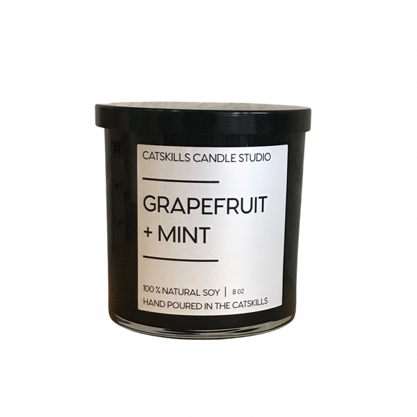 Grapefruit + Mint Candle