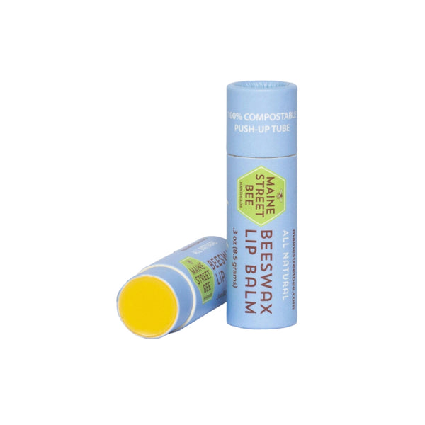 Lavender Orange Organic Compostable Lip Balm