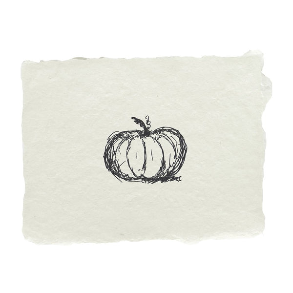 Pumpkin Note Card