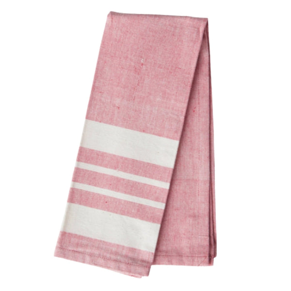Tomato Red Stripe Kitchen Towel