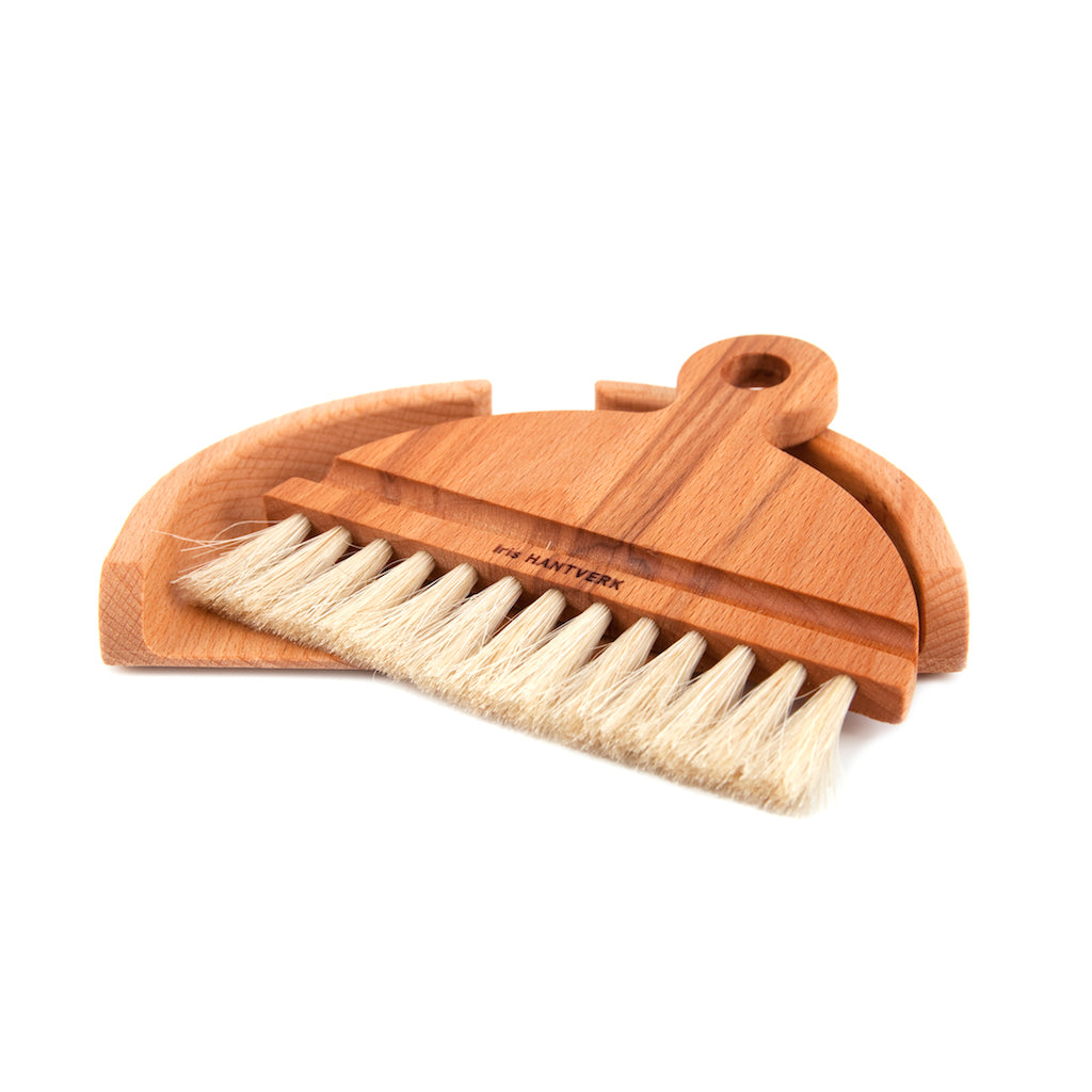 Wooden Table Crumb Brush