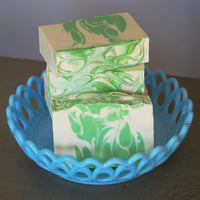 Clover + Aloe Soap Bar | Glitz Soap Co. homemade vegan soap, vegan body soap, vegan hand soap, vegan friendly soap bars