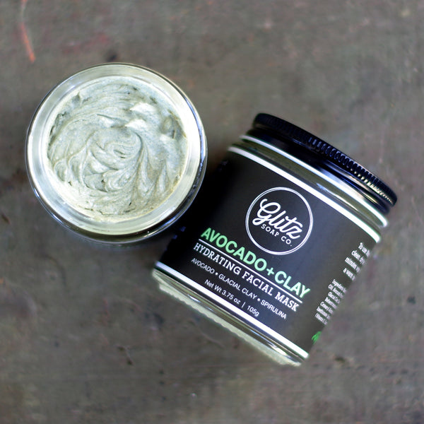 Avocado + Clay Hydrating Facial Mask