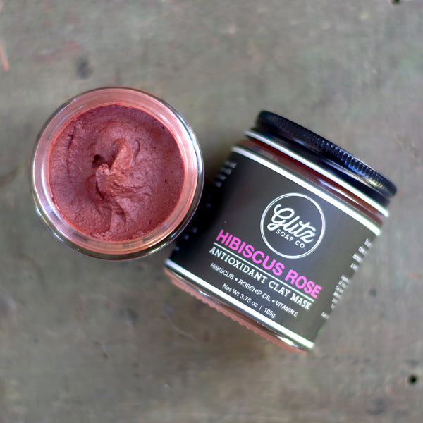 Hibiscus Rose Antioxidant Clay Mask