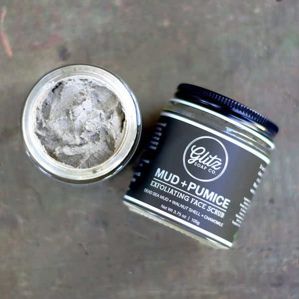 Mud + Pumice Exfoliating Face Scrub