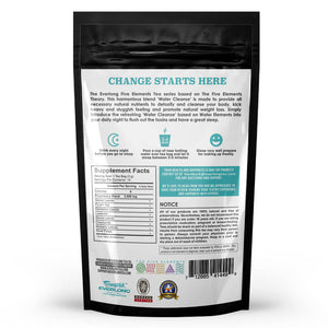 The 5 Elements Tea - Cleanse Label