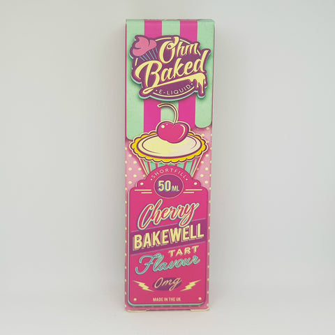 OHM BAKED CHERRY BAKEWELL 50ML