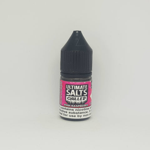 ULTIMATE SALTS CHILLED PINK RASPBERRY 10ML 10MG