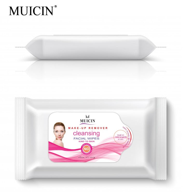 MUICIN MAKE-UP REMOVER CLEANSING WIPES IN