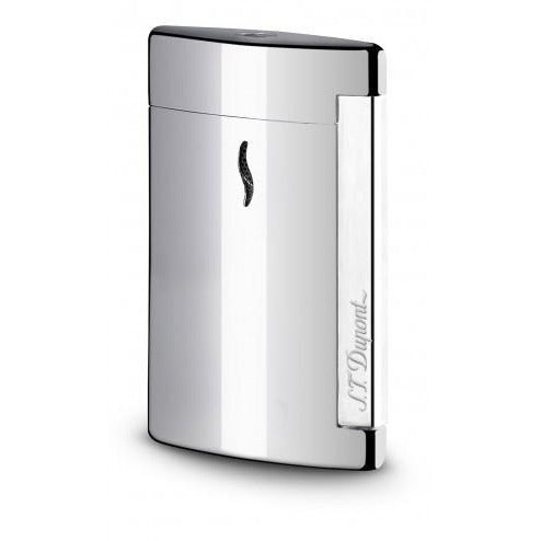 S.T. Dupont Minijet Torch Lighter Glossy Silver