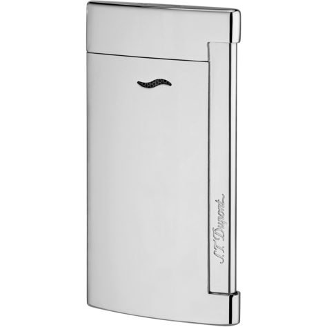 S.T. Dupont Slim 7 Full Shiny Chrome Lighter